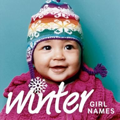 Baby Girl Names Inspired by Winter.