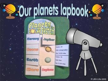 Planets lapbook