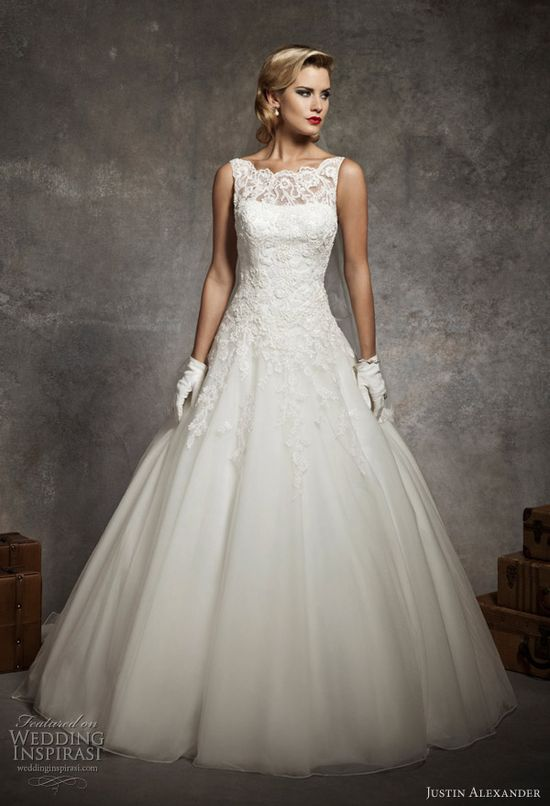 justin alexander 2013 wedding gowns