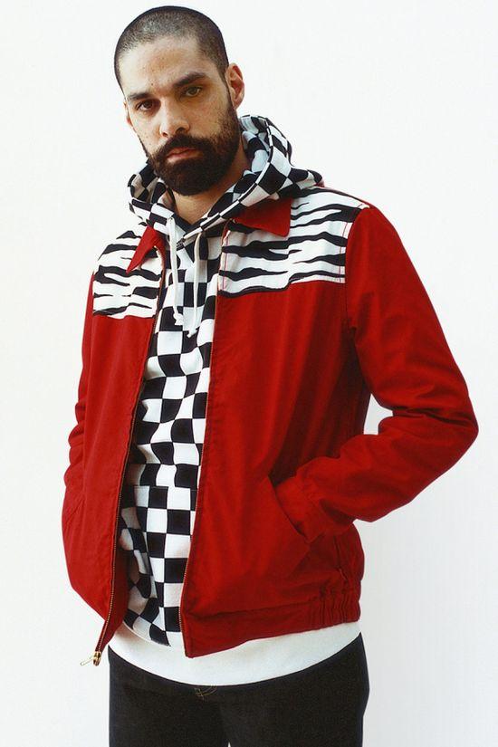 I LOVE the checkered sweatshirt