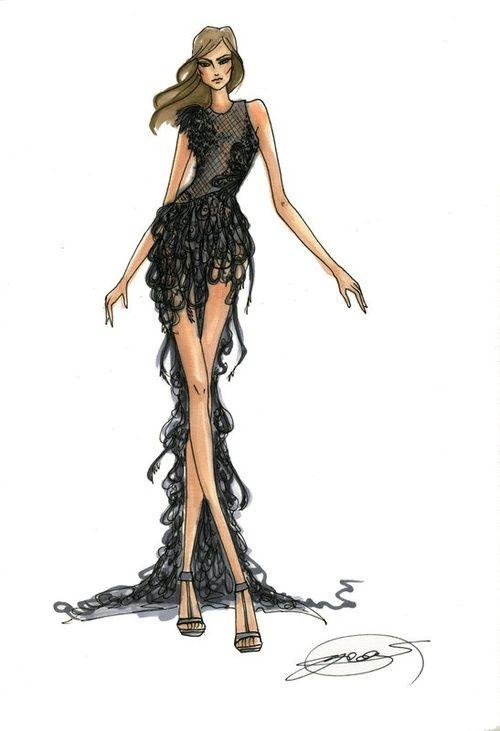 #fashion #illustration