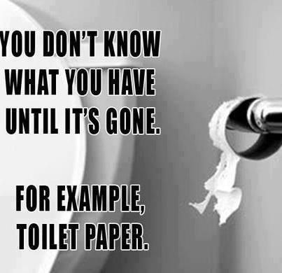 Fab Friday Funny: Toilet Paper
