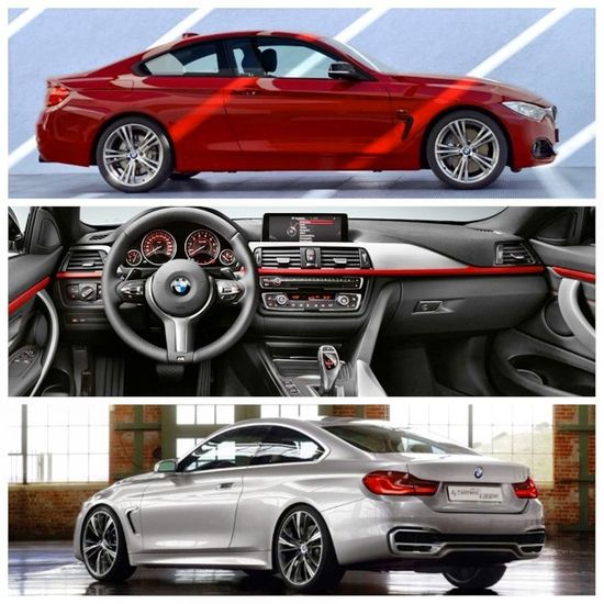 BMW's new weapon...4 series coming soon!