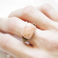 diy | wrapped wire ring
