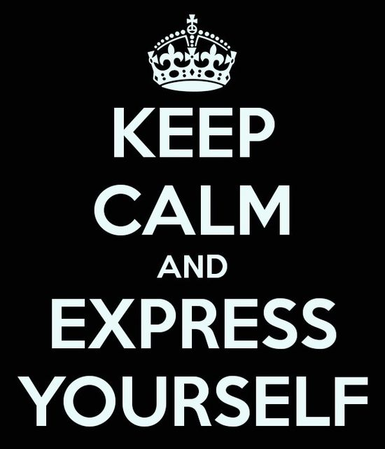Express Yourself...