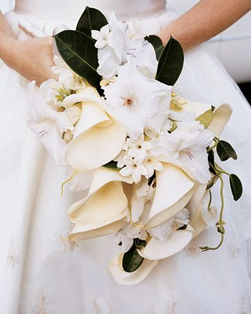 calla lillies bouquet