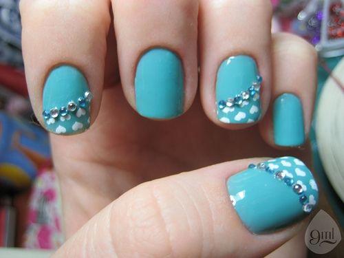 Sereia Pastel color nail design