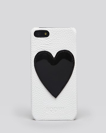 Bodhi iPhone Case - Leather Hearts