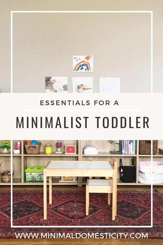 Minimalist Toys