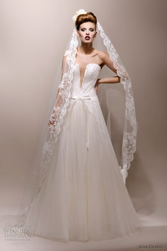 max chaoul #wedding #dresses 2013 #gown