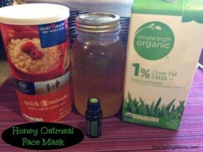 Honey Oatmeal Face Mask - STOCKPILING MOMS™