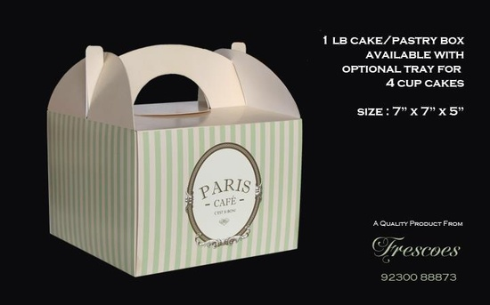 Bakery And Confectionery Packaging Boxes For Cakes