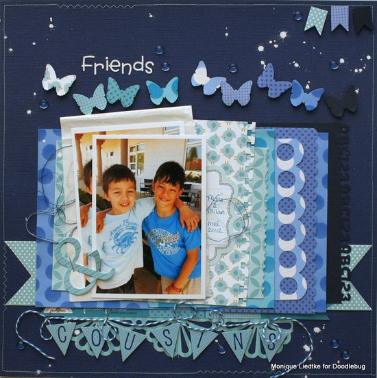 Make A Wish Birthday Premade Paper Piecing Embellishments 4 Pages SC4S