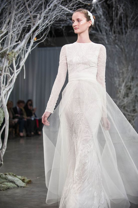 Monique Lhuillier Fall 2013 Bridal Collection