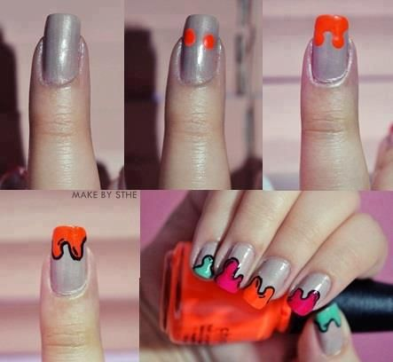 Super Easy Creative Nails Tutorial