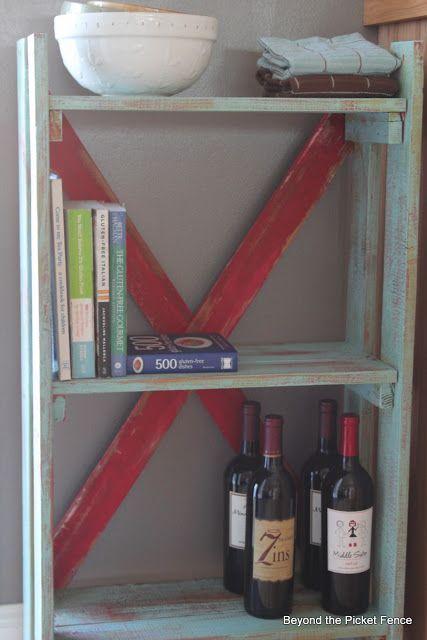 Beyond The Picket Fence: Pallet Bookshelf  bec4-beyondthepic...