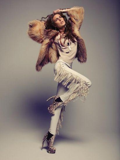 Ellie by Michael Williams #fashion #model #fur #elliemodel #michaelwilliams