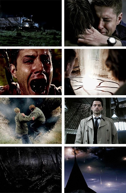 [SET OF GIFS] All 8 season finales. And again. MY. HEART.