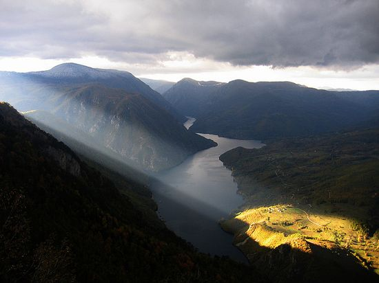 The Strongest Lamp, the River Drina from the Tara Mountain