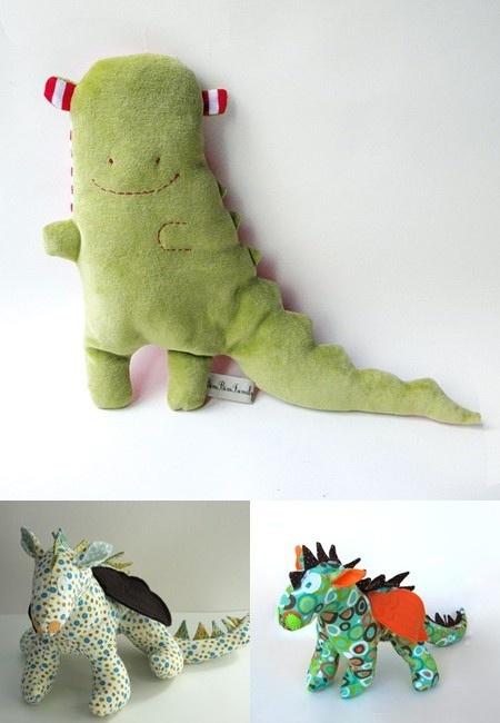 Cute dragon toy