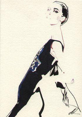 Illustration - David Downton