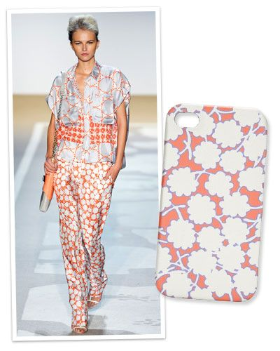 Dress your #iPhone in #DianevonFurstenberg's floral print www.instyle.com/...