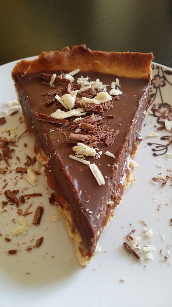 Tarte chocolat gourm
