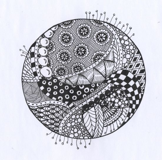 Zentangle the world..great sampler of zentangle designs from pedalpower on flickr