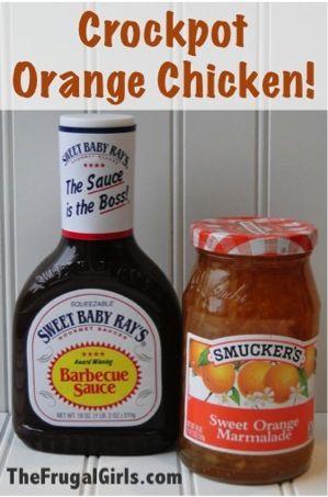Crockpot Orange Chicken Recipe in Crockpot Recipe, Recipes