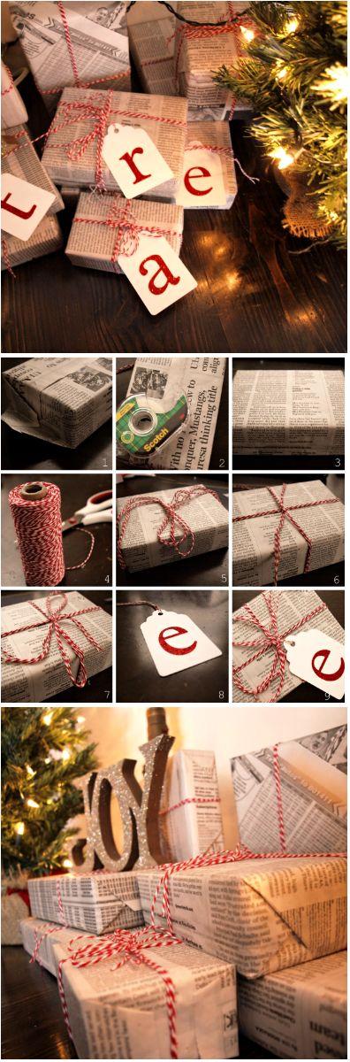 Christmas Inspiration  Gift Wrapping