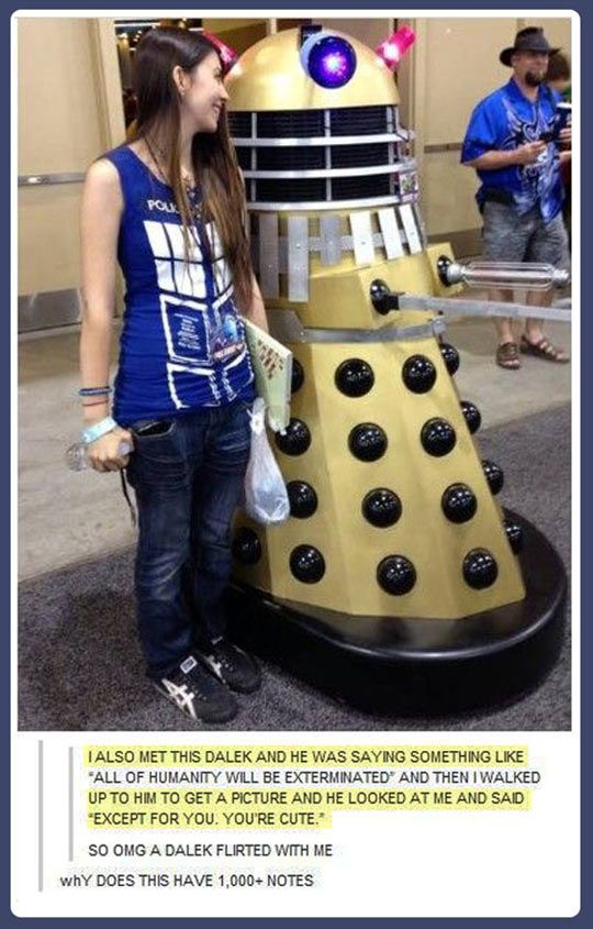Daleks have found love at last.