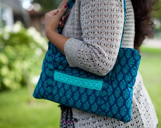 Handmade Quilted Bag