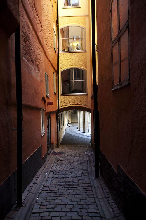 'Old Town', Gamla Stan, Stockholm.