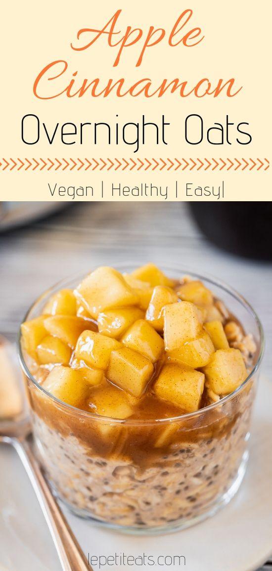 Overnight Oats vegan - gesunde Rezepte für ein schnelles Frühstück