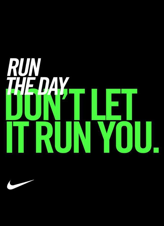 Repin if you got your run in today. #inspiration #motivation #nike