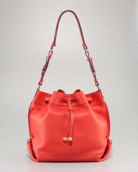Danya Drawstring Bag by Salvatore Ferragamo #Handbag #Drawstringbag #Salvatore #Ferragamo
