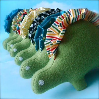 dinosaur! want to make these!