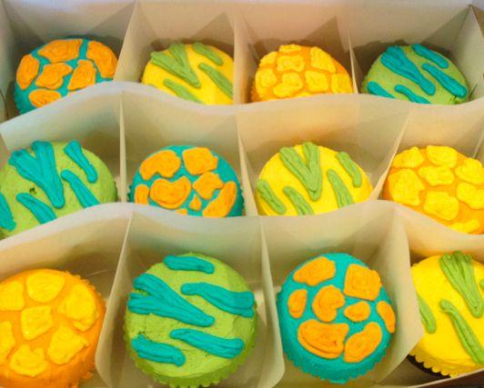 Wild Animal Cupcakes #Custom #BIRDbakery #SanAntonio