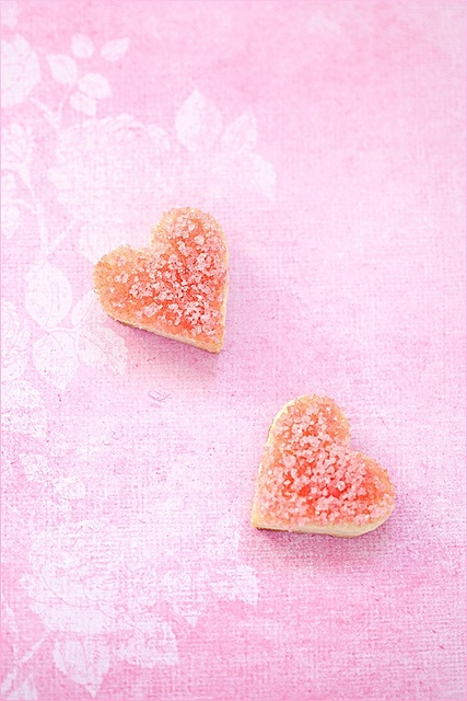 Delightfully interesting sounding Rose Water Flavoured Cookies. #baking #food #cooking #dessert #foodie #eat #delicious #pink #rosewater #roses #flowers #edibleflowers #hearts #cookies #ValentinesDay #Valentines