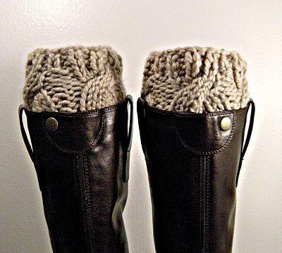 Boot cuffs!