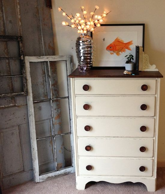Painted Furniture, Shabby Chic Furniture, Distressed Furniture CUSTOM Painted on Etsy, $350.00