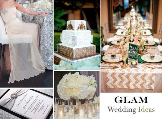 Glam Wedding Ideas