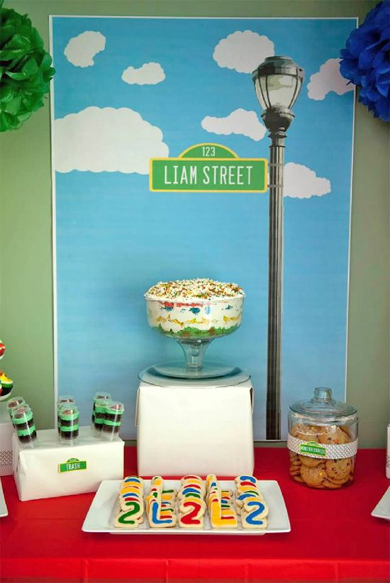 Sesame Street birthday party - tons of ideas!!