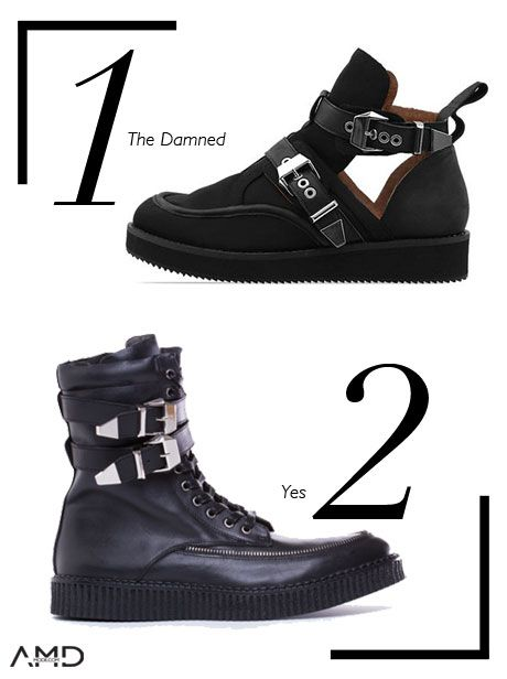 AMDMODE - AMDMODE brings you a selection of shoes from Solestruck.com, a website where shoe design is of utmost importance!  We bet you will love number 3!