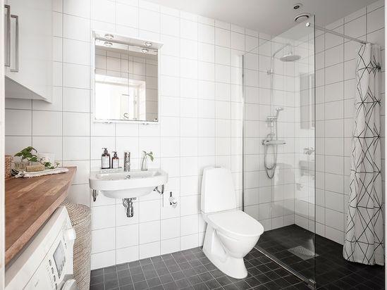 Scandinavian Bathroom  Board