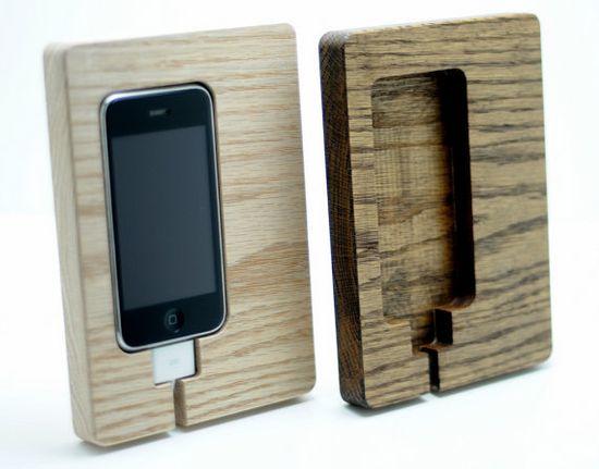 iPhone 4 4s charging station phone dock great by DoerflerDesigns, $22.00