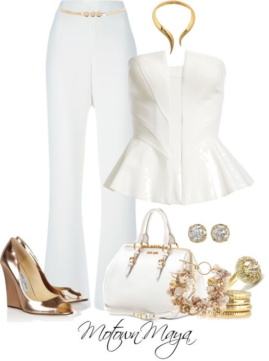 """Yacht White Party"" by motownmaya ❤ liked on Polyvore"