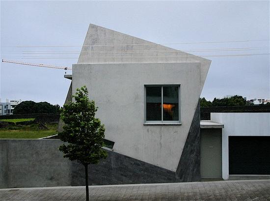 Modern Architecture cemento cuadrado atectonico