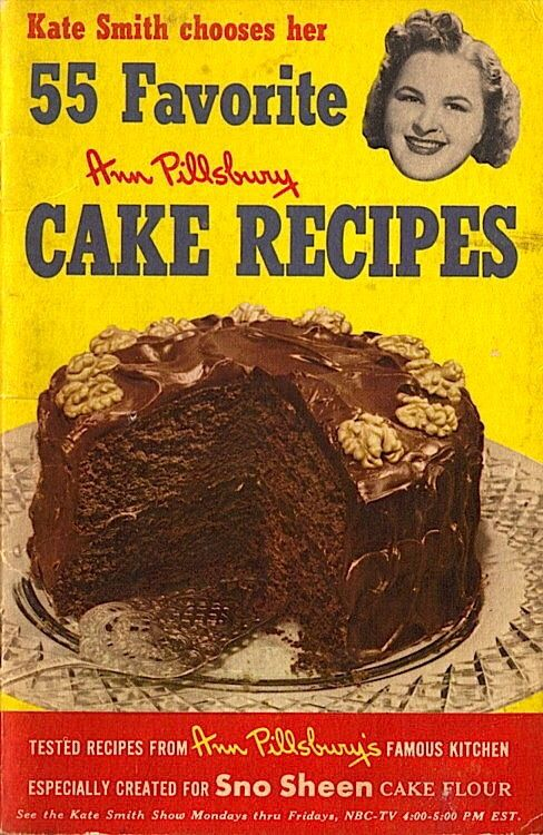 Kate Smith chooses her favorite cake recipes