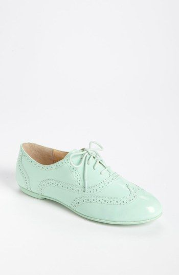 Want! Cole Haan Mint Oxford